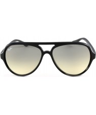 RayBan Rb4125 59 koček 5000 černé sluneční brýle 601-32