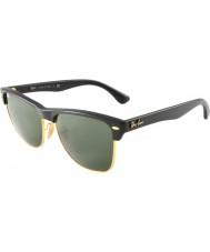 RayBan Rb4175 57 clubmaster nadrozměrných demi lesklé černo-zlatá 877 sluneční brýle