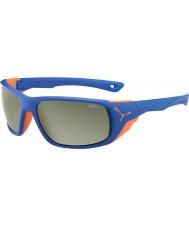 Cebe Jorasses velké matné Blue Orange variochrom vrchol blesku zrcadlové sluneční brýle