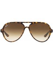RayBan Rb4125 59 710 51 koček 5000 slunečních brýlí