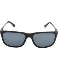 Polo Ralph Lauren Ph4088 55 matná černá šedá 528481 polarizované sluneční brýle