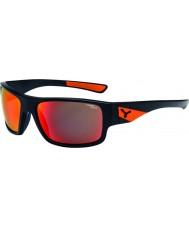 Cebe Whisper matná černá oranžové sluneční brýle
