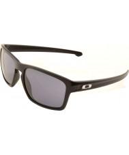 Oakley Oo9262-01 tříska matná černá - šedé sluneční brýle