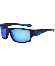 Cebe Whisper matná černá modré sluneční brýle