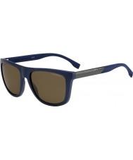 HUGO BOSS Pánská šéf 0834-S hwq sp modré polarizované sluneční brýle