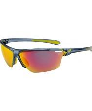 Cebe Cinetik velké matné průsvitné modré sluneční brýle