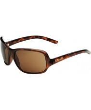 Bolle Kassia lesklý tortoiseshell polarizované A-14 sluneční brýle