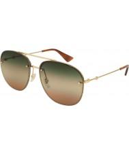 Gucci Pánské sluneční brýle pánské gg0227s 004 62