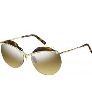 Marc Jacobs Dámy Marc 102-S j5g gg zlato stříbrné zrcadlové sluneční brýle