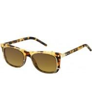 Marc Jacobs Marc-17 s u63 vo Havana zlaté sluneční brýle