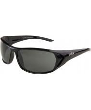 Bolle Blacktail lesklé černé polarizované sluneční brýle TNS