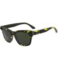 Valentino Dámské v670ss fluo žlutá armádní zelená sluneční brýle