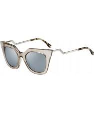 Fendi IRIDIA ff 0060-s MSQ 3U křišťálové sluneční brýle