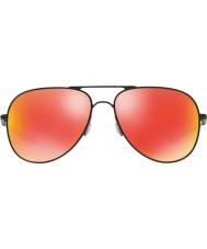 Oakley Oo4119-04 elmont m a l satén černý - Ruby iridium sluneční brýle