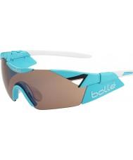 Bolle 6th Sense s lesklé modré modulátor vzrostl zbraň sluneční brýle