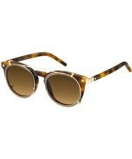 Marc Jacobs Marc 18-y zařízení U6J zx Havana zlaté sluneční brýle