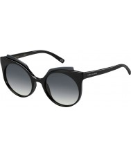 Marc Jacobs Dámy Marc-105 s D28 9O lesklé černé sluneční brýle