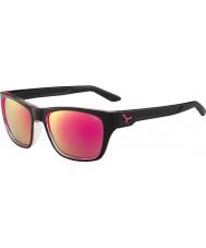 Cebe Hacker lesklé černé 1500 šedá Blesk Zrcátko růžové brýle