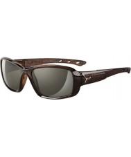 Cebe S-kiss lesklé hnědé Savannah sluneční brýle