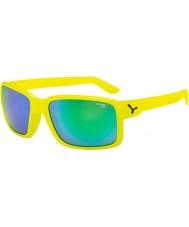 Cebe Dude neon žlutá zelená sluneční brýle