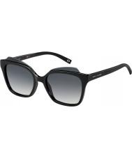 Marc Jacobs Dámy Marc-106 s D28 9O lesklé černé sluneční brýle