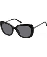Polaroid Dámská pld4044-S cvs Y2 černý ruthenium polarizované sluneční brýle