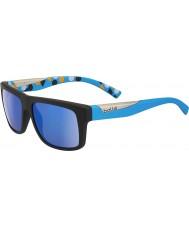 Bolle Clint matná černá modrá polarizované GB-10 sluneční brýle