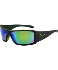 Cebe Utopy matná černá zelená sluneční brýle