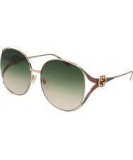Gucci Dámské gg0225s 003 63 sluneční brýle