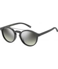 Marc Jacobs Marc-107 s DRD Gy tmavě šedá stříbrné zrcadlové sluneční brýle