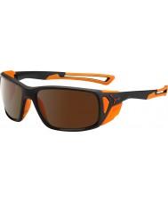 Cebe Proguide matná černá oranžový 2000 hnědá blesk zrcadlové sluneční brýle