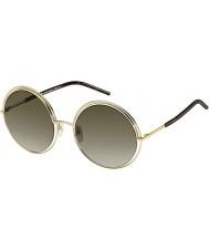 Marc Jacobs Dámy MARC 11 s APQ ha zlaté tmavé sluneční brýle havana
