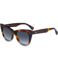 Fendi Dámy ff 0238-s ab8 9o sluneční brýle