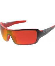 Bolle Diamondback lesklé černé červené TNS požární sluneční brýle