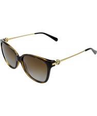 Michael Kors Mk6006 57 Marrakesh tmavé želvoviny 3006t5 polarizované sluneční brýle