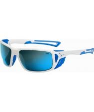 Cebe Proguide lesklá bílá modrá 4000 šedá minerální modré sluneční brýle