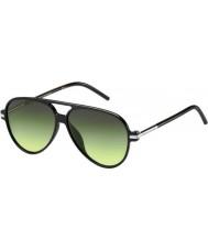 Marc Jacobs Marc-44 s D28 ib lesklé černé sluneční brýle