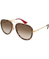 Gucci Dámské gg0062s 012 57 sluneční brýle