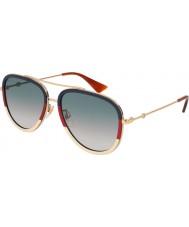 Gucci Dámy gg0062s 013 57 sluneční brýle