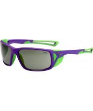 Cebe Proguide fialová zelená variochrom vrchol sluneční brýle