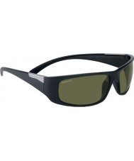 Serengeti Fasano lesklý satén černé polarizované sluneční brýle phd 555nm