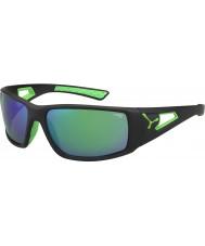Cebe Session černá zelená šedá 1500 zrcadlové sluneční brýle zelená
