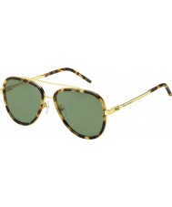 Marc Jacobs Pánská marc 136-s LSH dj spatřen havana zlaté sluneční brýle