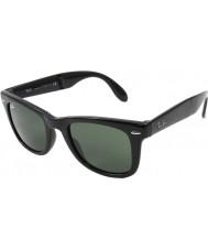 RayBan Rb4105 50 skládací Wayfarer černé 601 sluneční brýle