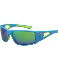Cebe Session blue orange 1500 šedá zrcadlové sluneční brýle zelená