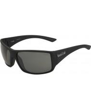 Bolle Pakobra páskovaná lesklé černé polarizované sluneční brýle TNS