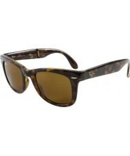 RayBan Rb4105 50 skládací Poutník světlo tortoiseshell 710 sluneční brýle
