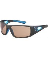Cebe Session matné šedomodrá variochrom Perfo sluneční brýle