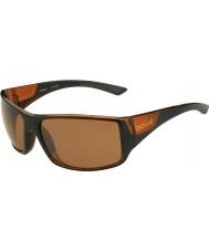 Bolle Pakobra páskovaná lesklé černé matné hnědé polarizovaný pískovcových pistole sluneční brýle