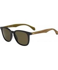 HUGO BOSS Pánská šéf 0843-S RBG ec černými hnědý sluneční brýle